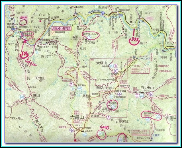 Gps Hiking Maps Italy