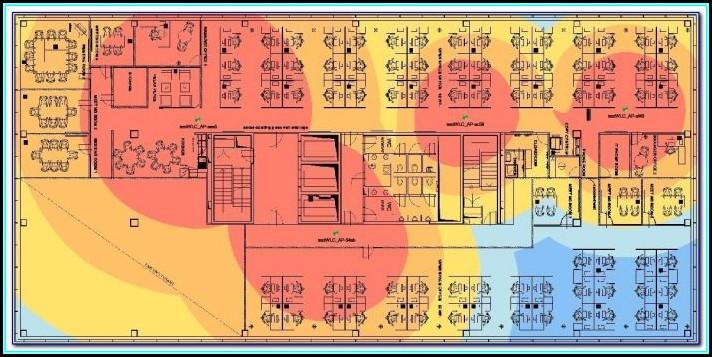 Heat Map Wireless Network