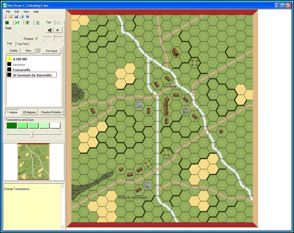 Hexagon Tile Map Editor