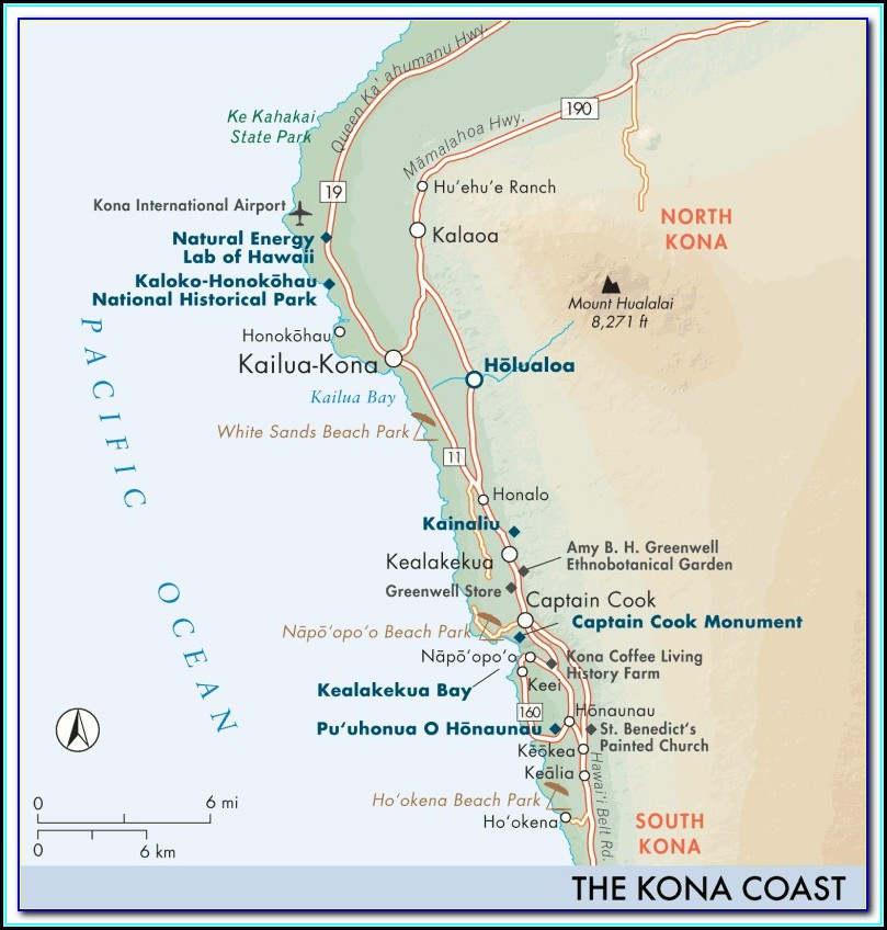 Kona Coast Resort Directions