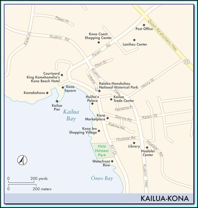 Kona Coast Resort Phase 2 Map