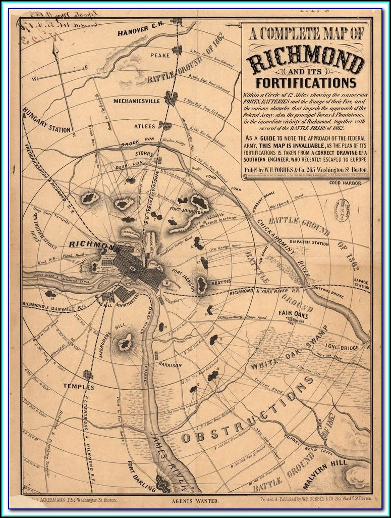 Map Of Civil War Battles In Kentucky