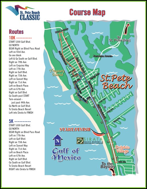 St Pete Beach Hotels Map