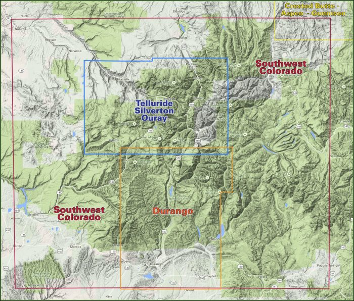 Topo Map Colorado