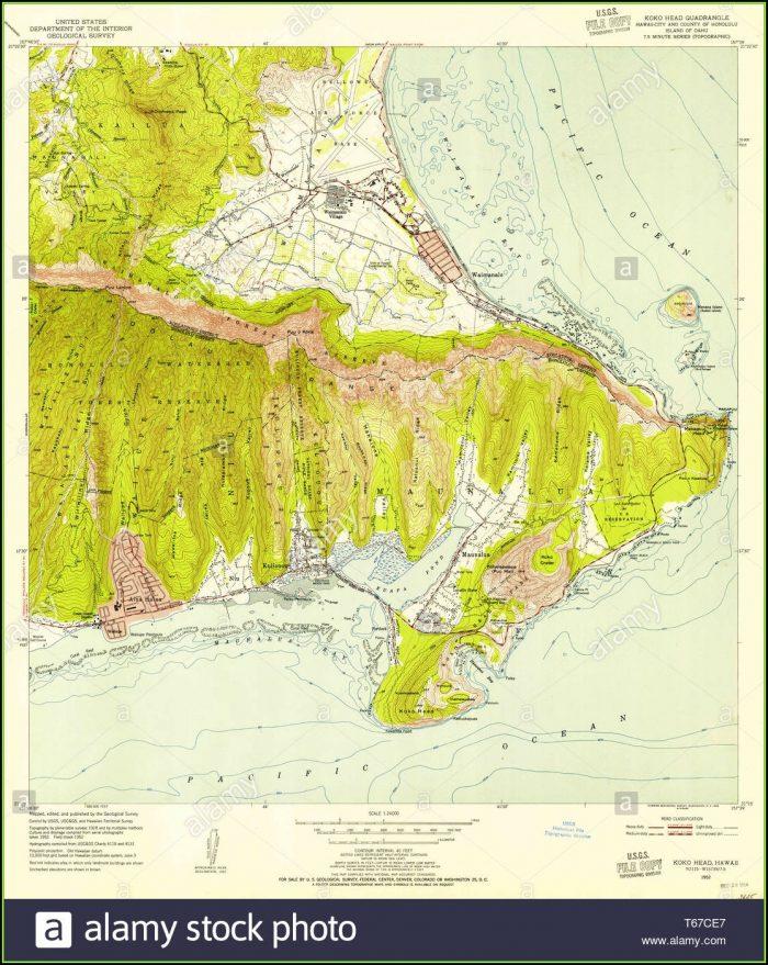 Usgs Hawaii Topo Map