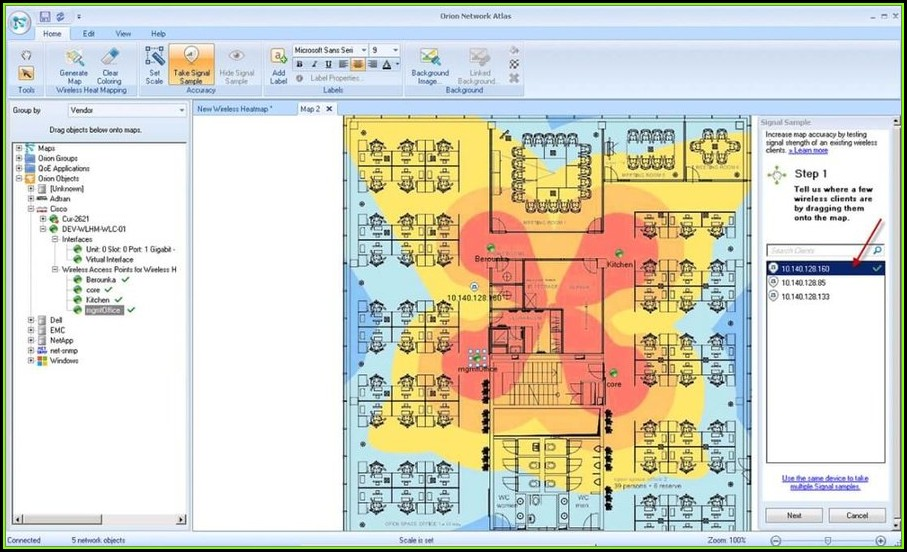 Wifi Heat Map Software Free Download