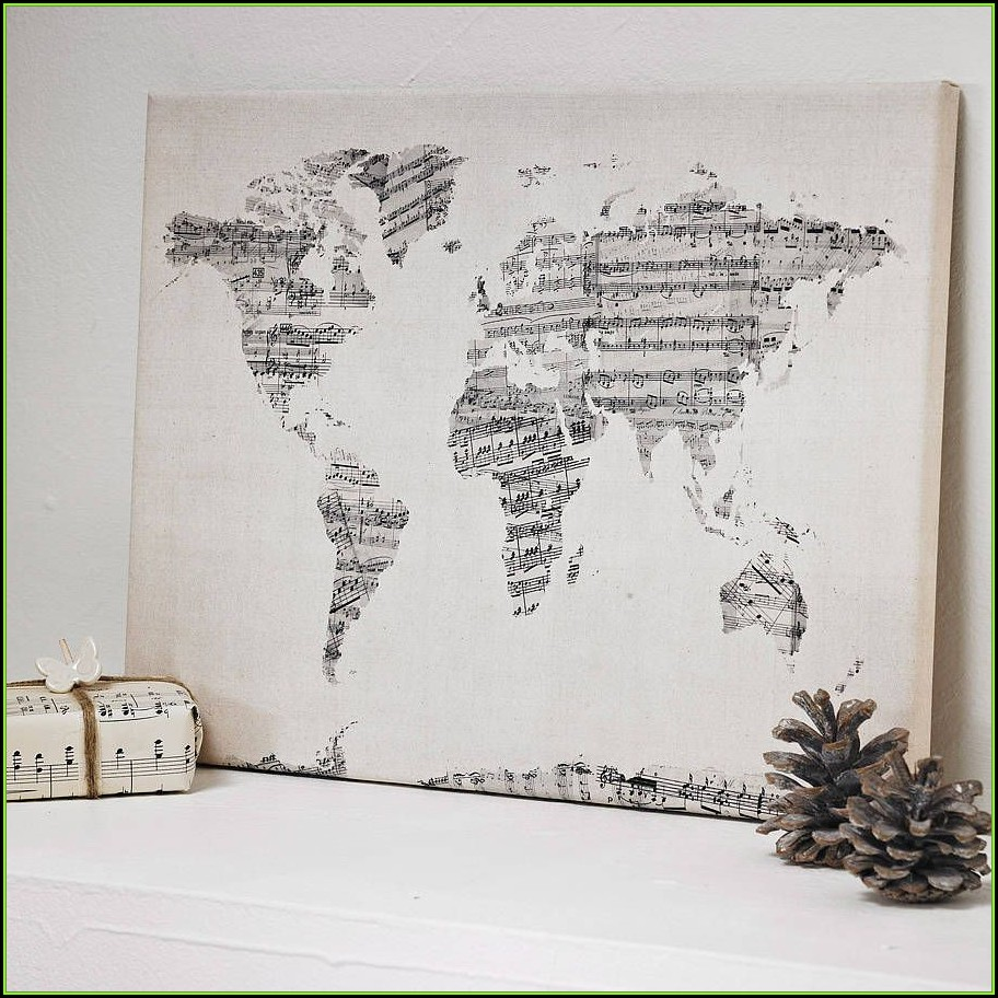 World Map Art Projects