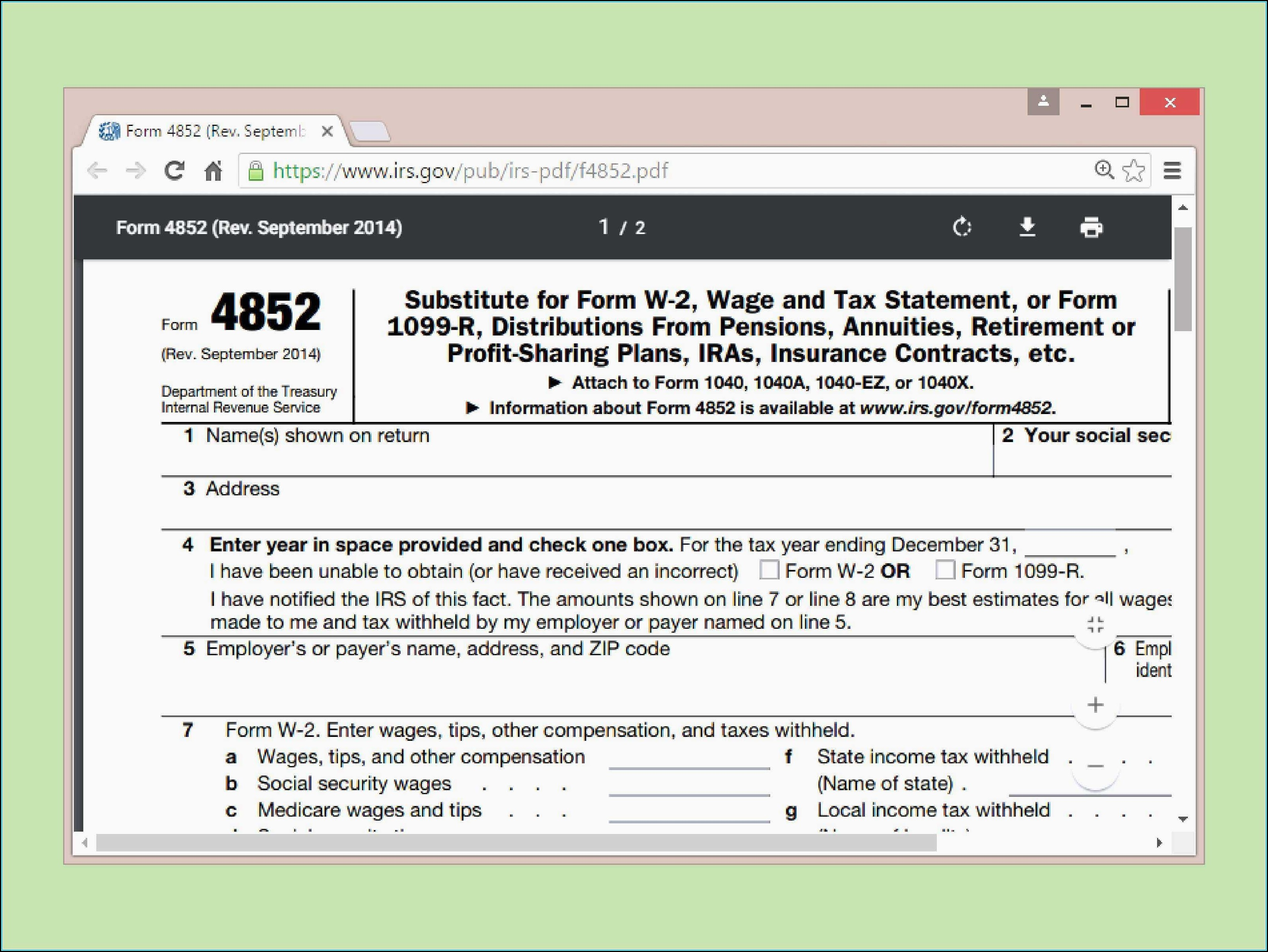 2014 Irs Tax Forms 1040ez Instructions
