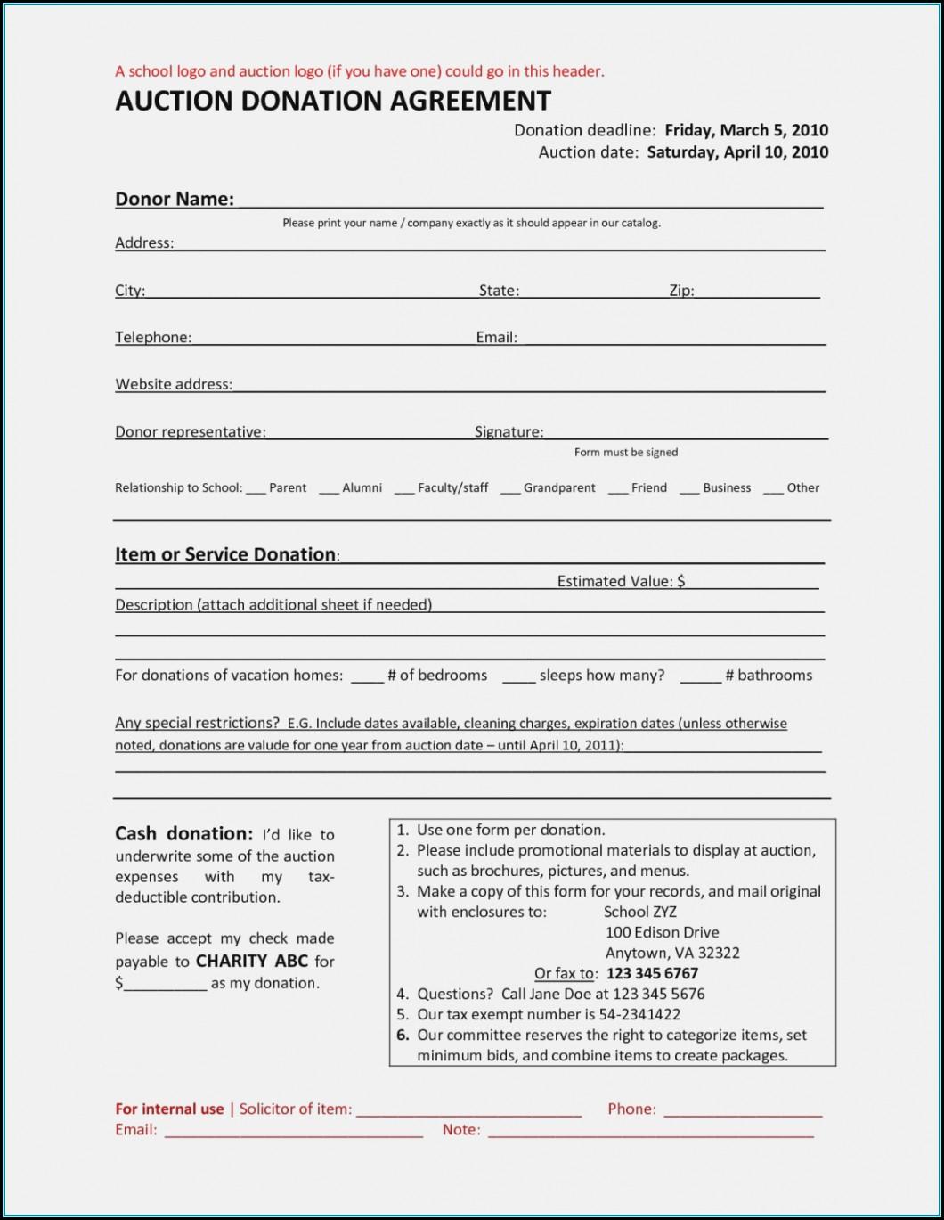 503 Nonprofit Form