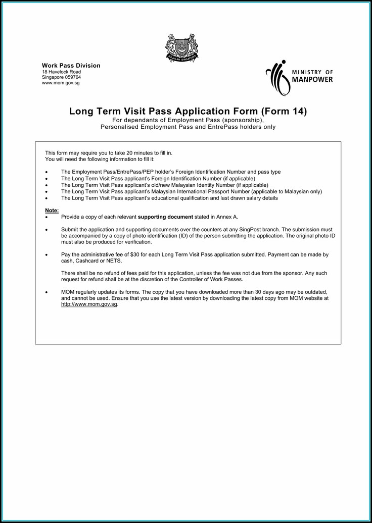 Application Form For Vietnam Visa On Arrival