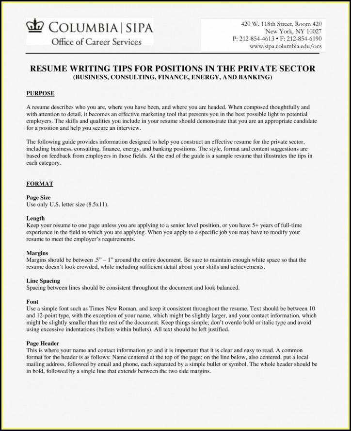 Best Resume Format For Freshers Ece Engineers Free Download Pdf