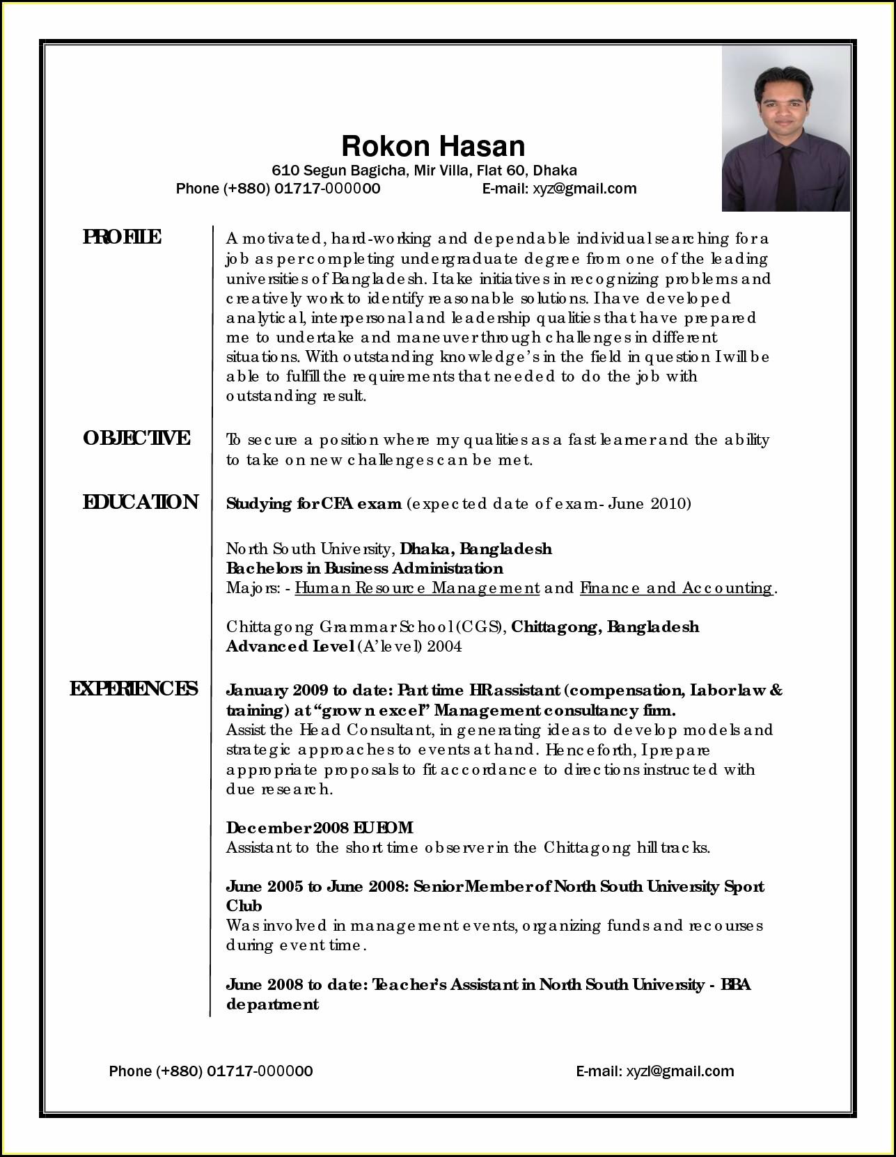 Best Resume Writing Professionals