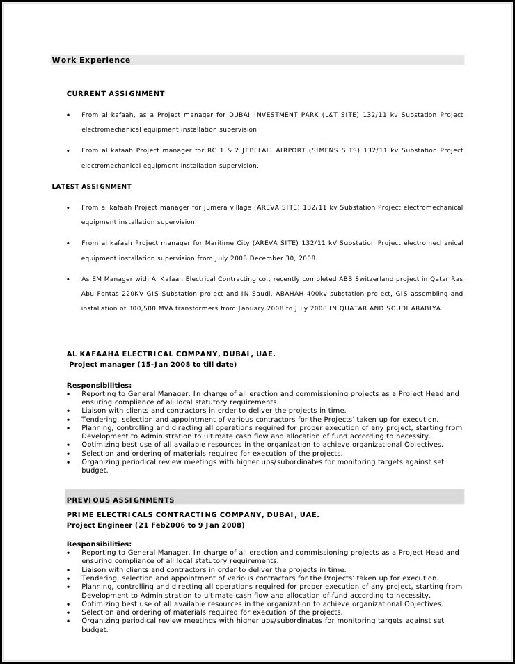 Caregiver Objectives Resume Templates Examples