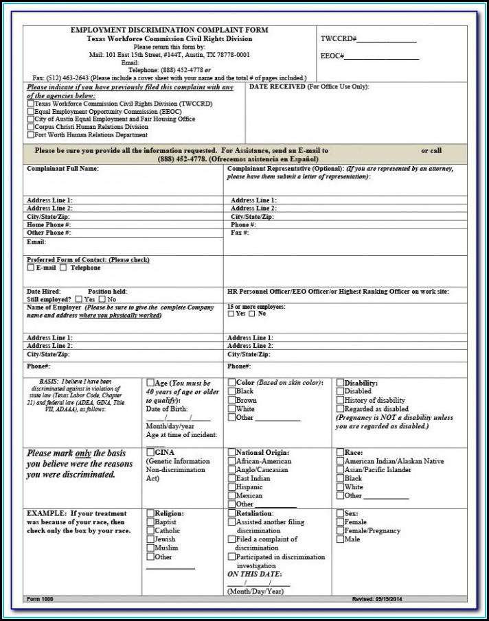 Complaint For Divorce Form Pa