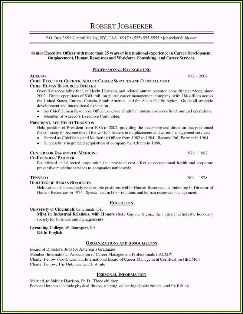 Downloadable Resume Format 2019