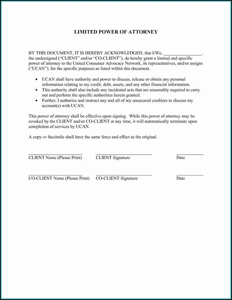 Durable Power Of Attorney Form Ny