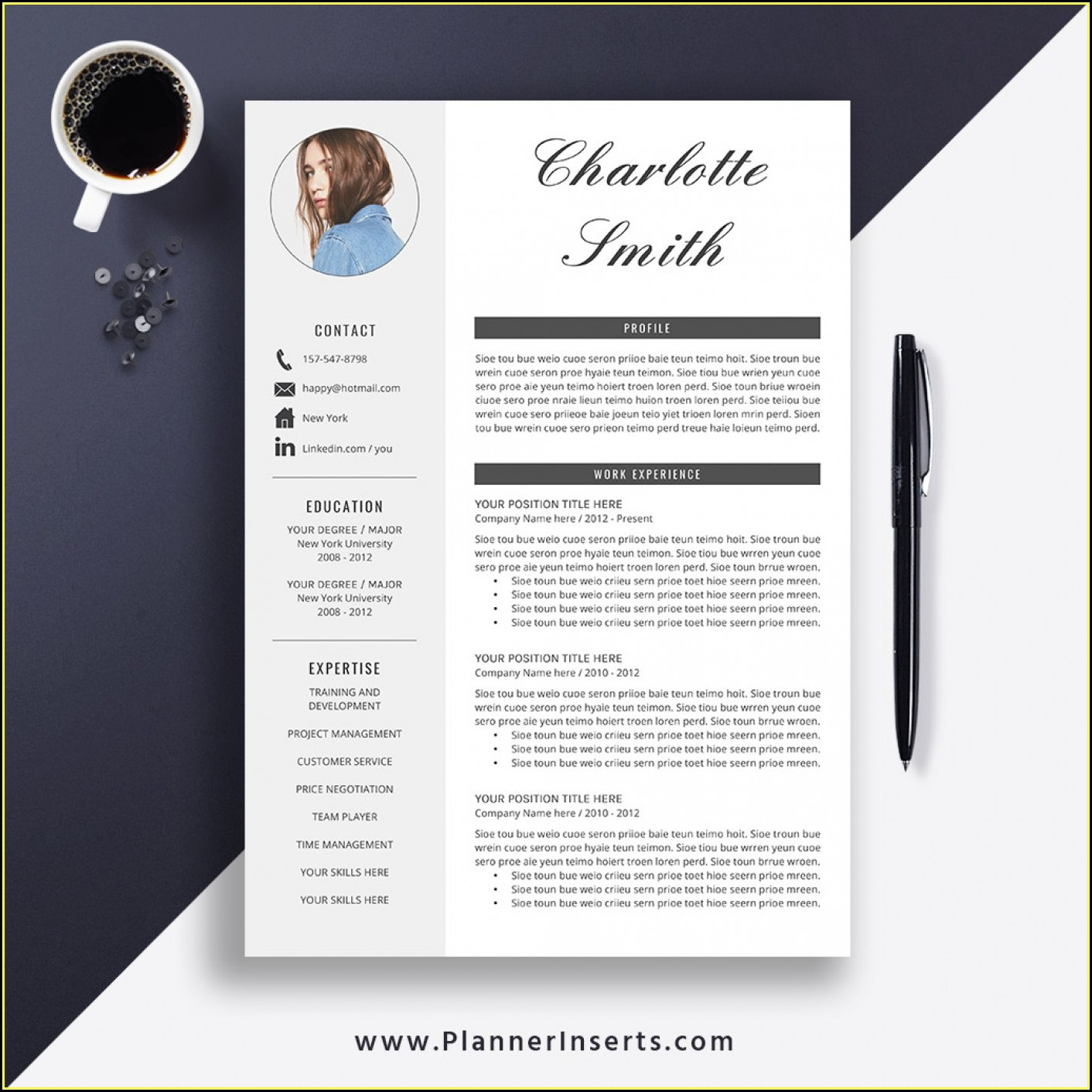 Elegant Cv Templates Free Download