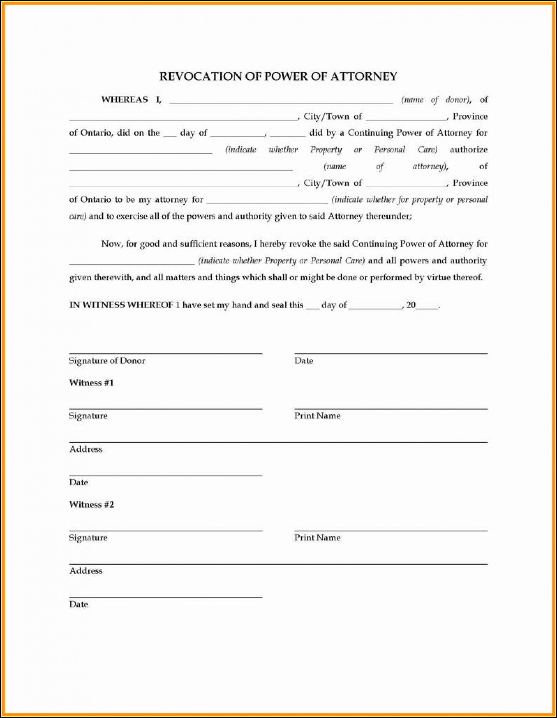 Florida Durable Power Of Attorney Form 2018 Pdf