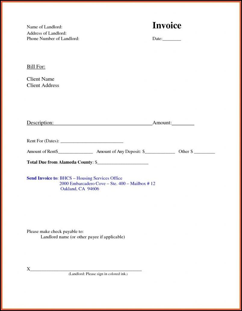 Free Printable Receipt Template Microsoft Word