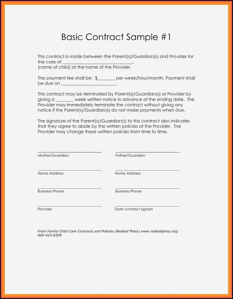 Free Simple Loan Agreement Template Pdf