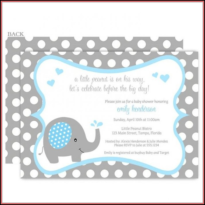 Homemade Baby Shower Invitations Diaper Template