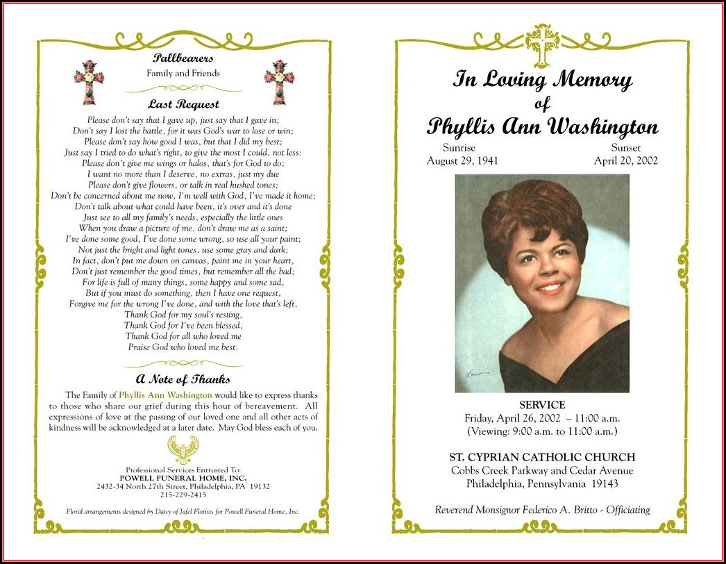 In Loving Memory Picture Templates