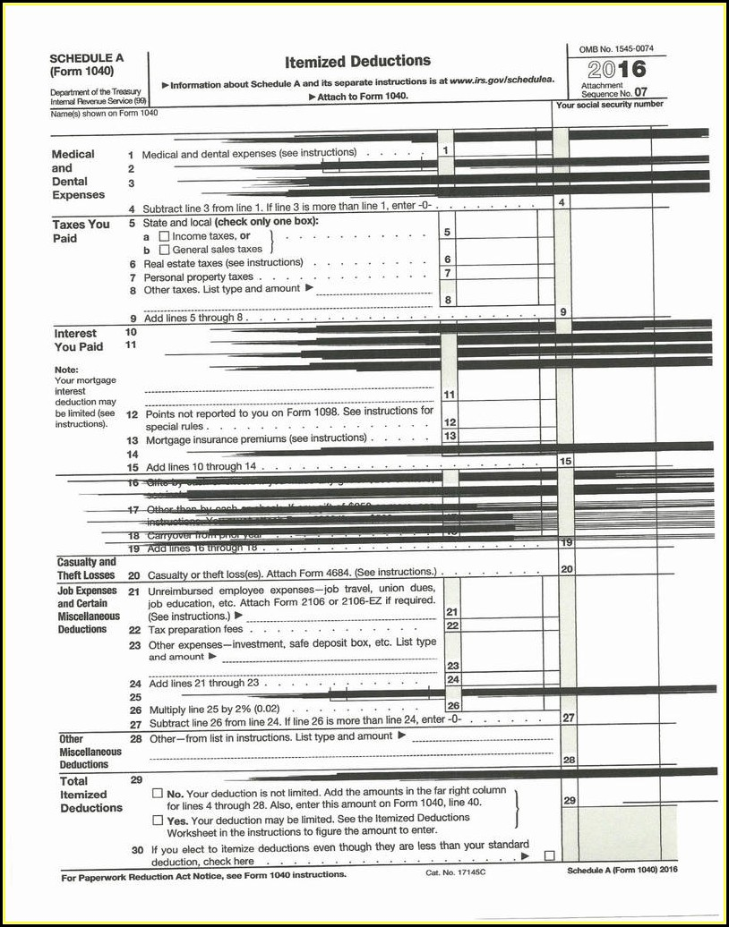 Income Tax Form 1040a 2018