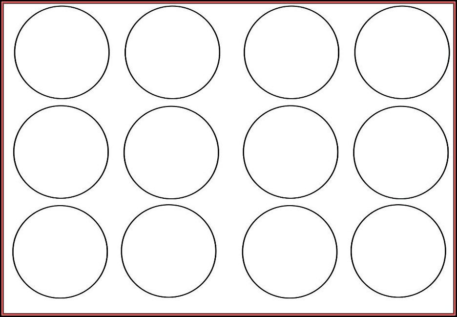 Macaron 2 Inch Circle Template