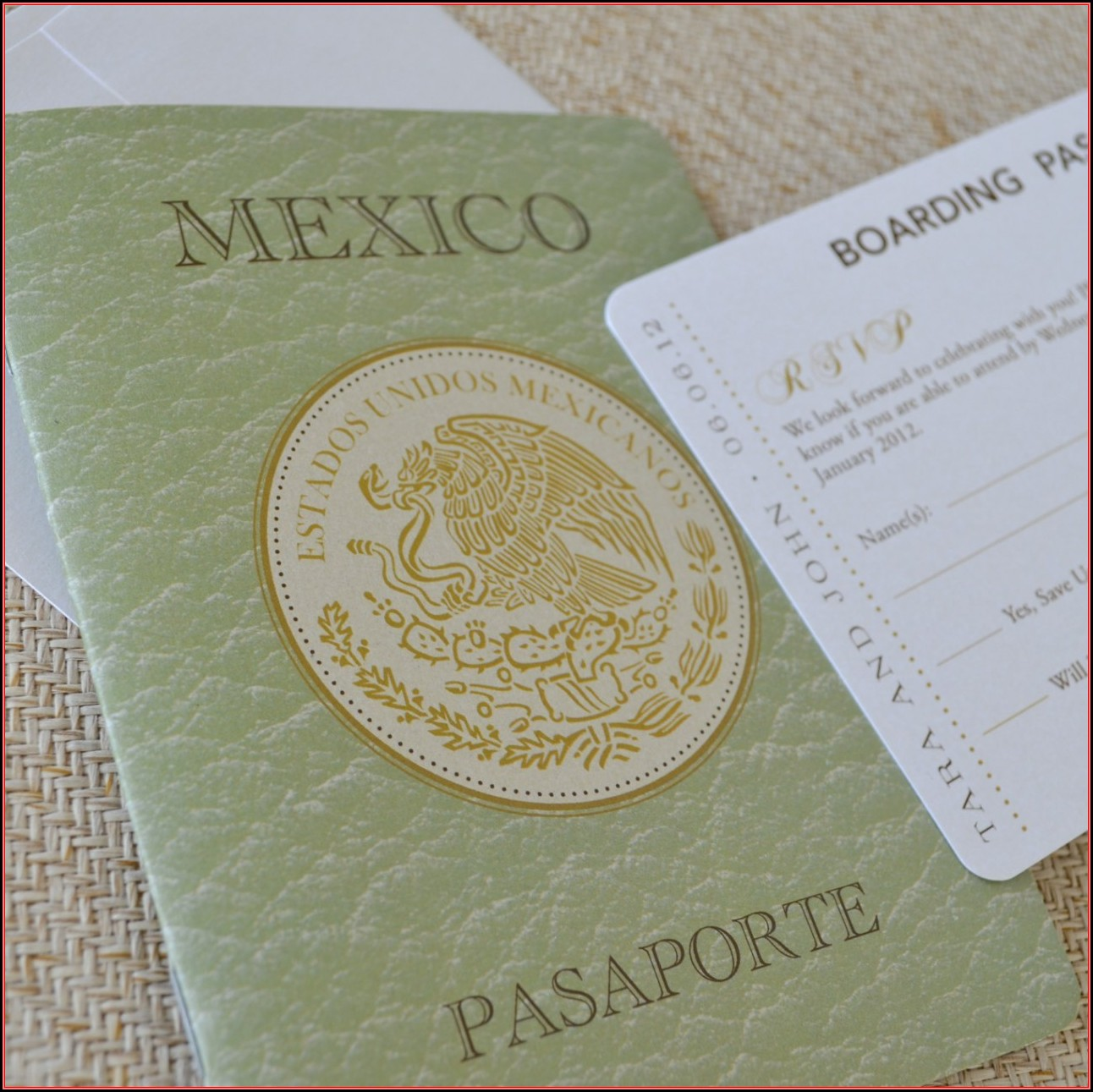 Mexican Wedding Invitations Free Templates