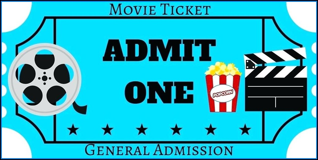 Movie Theater Gift Certificate Template