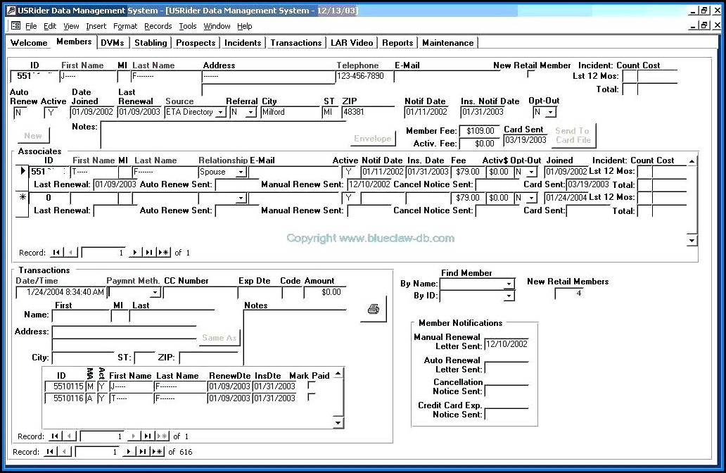 Ms Access Invoice Template Free Download