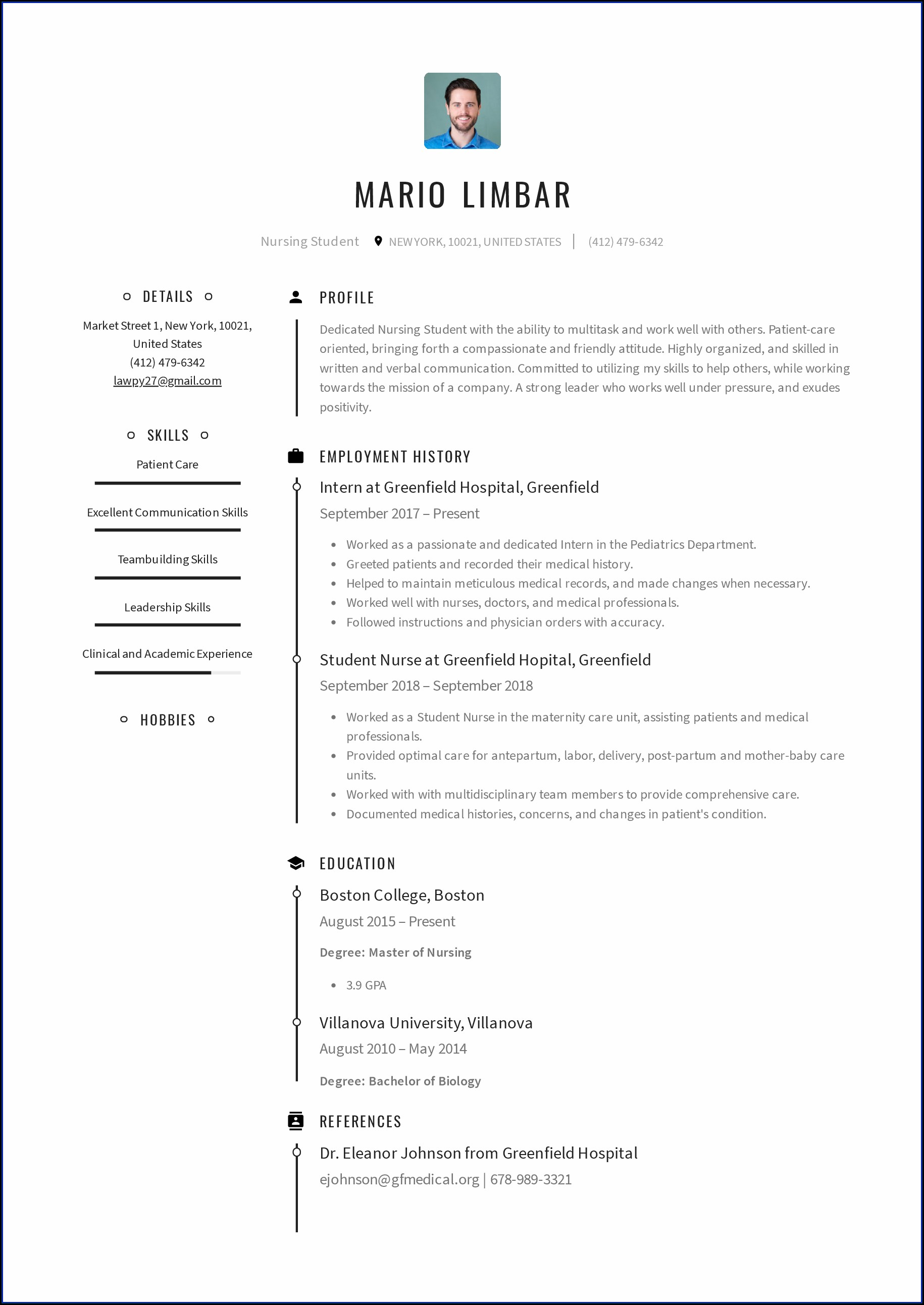 New Lpn Resume Template