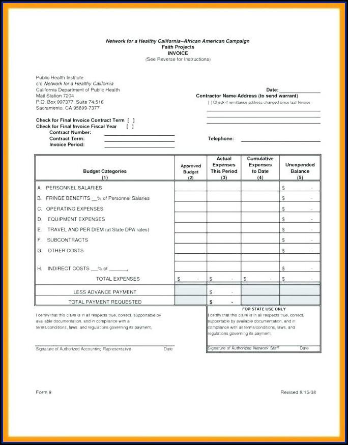 Plumbing Invoice Template Uk