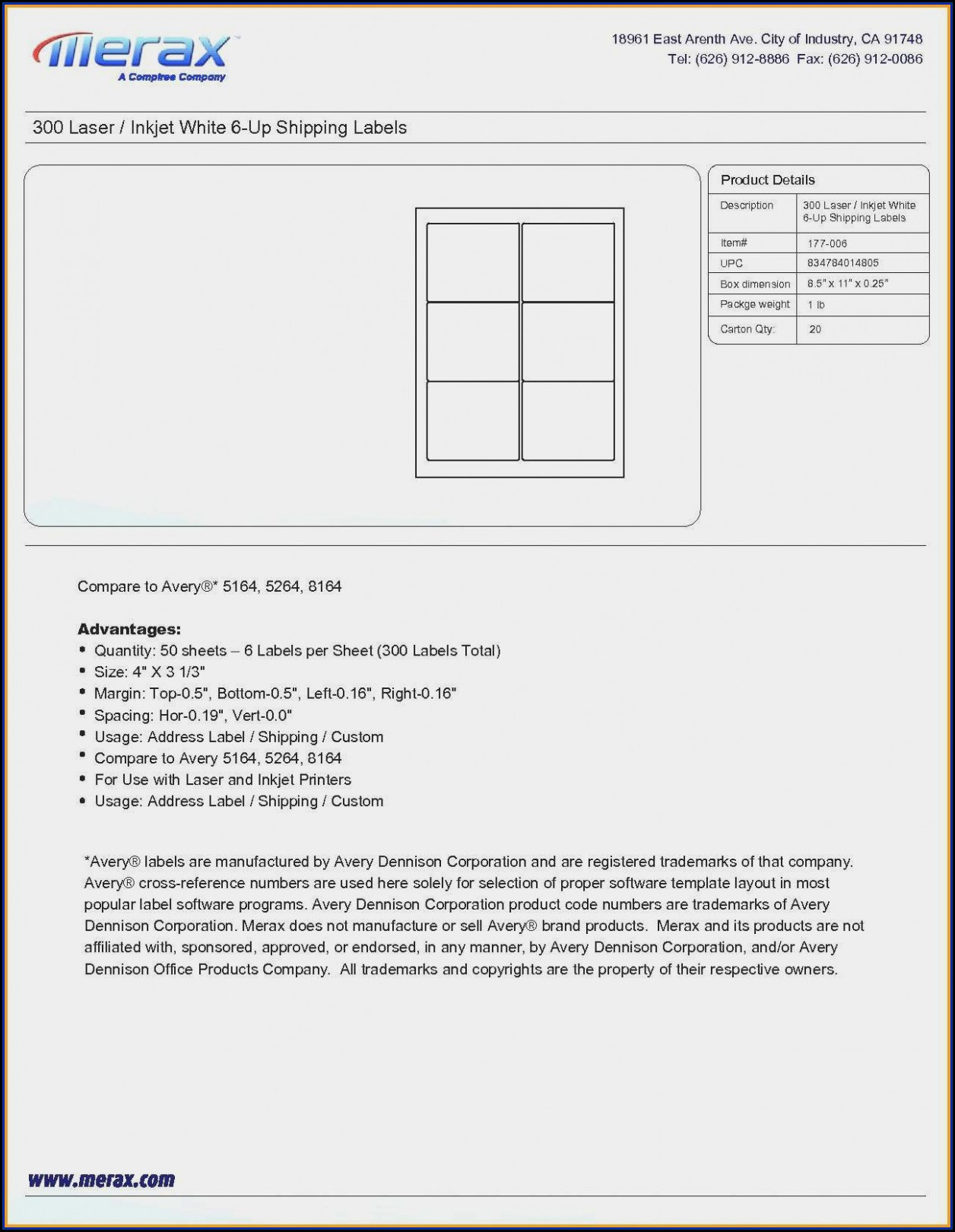 Quill File Folder Label Templates