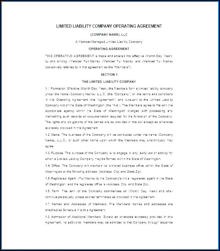 Startup Employee Contract Template