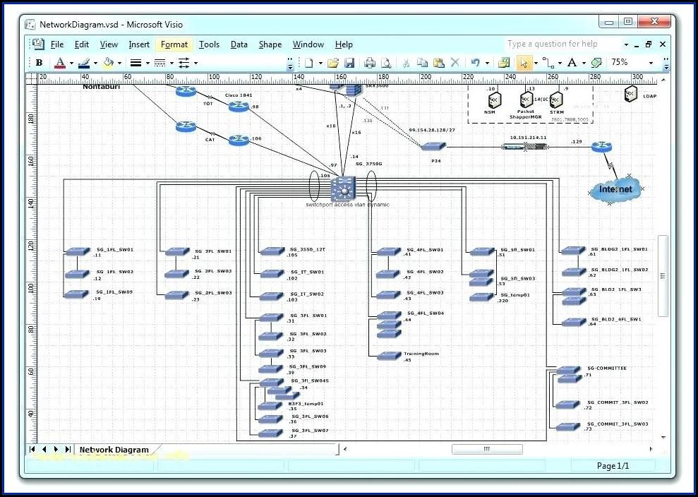Visio 2013 Network Diagram Stencils