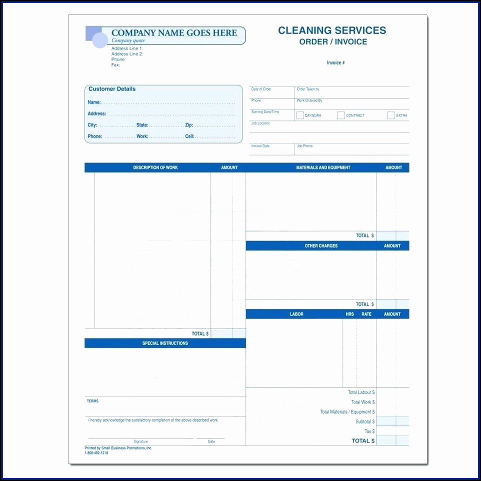 Window Cleaning Estimate Template