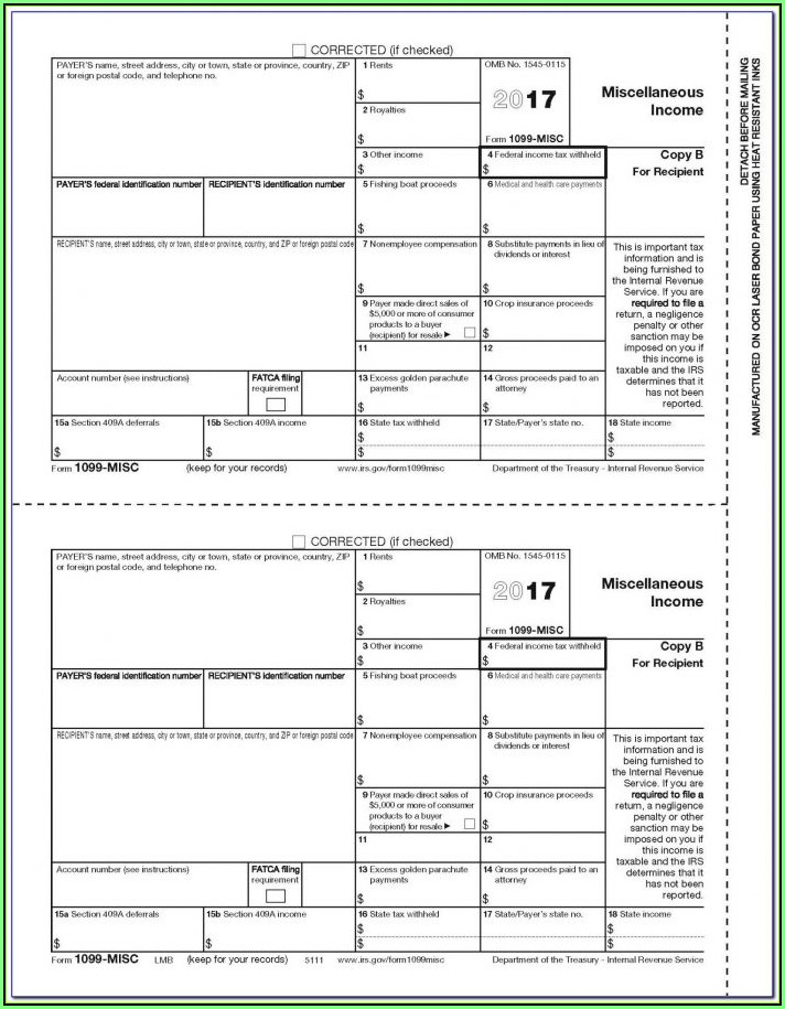1099 Form Employer Responsibilities