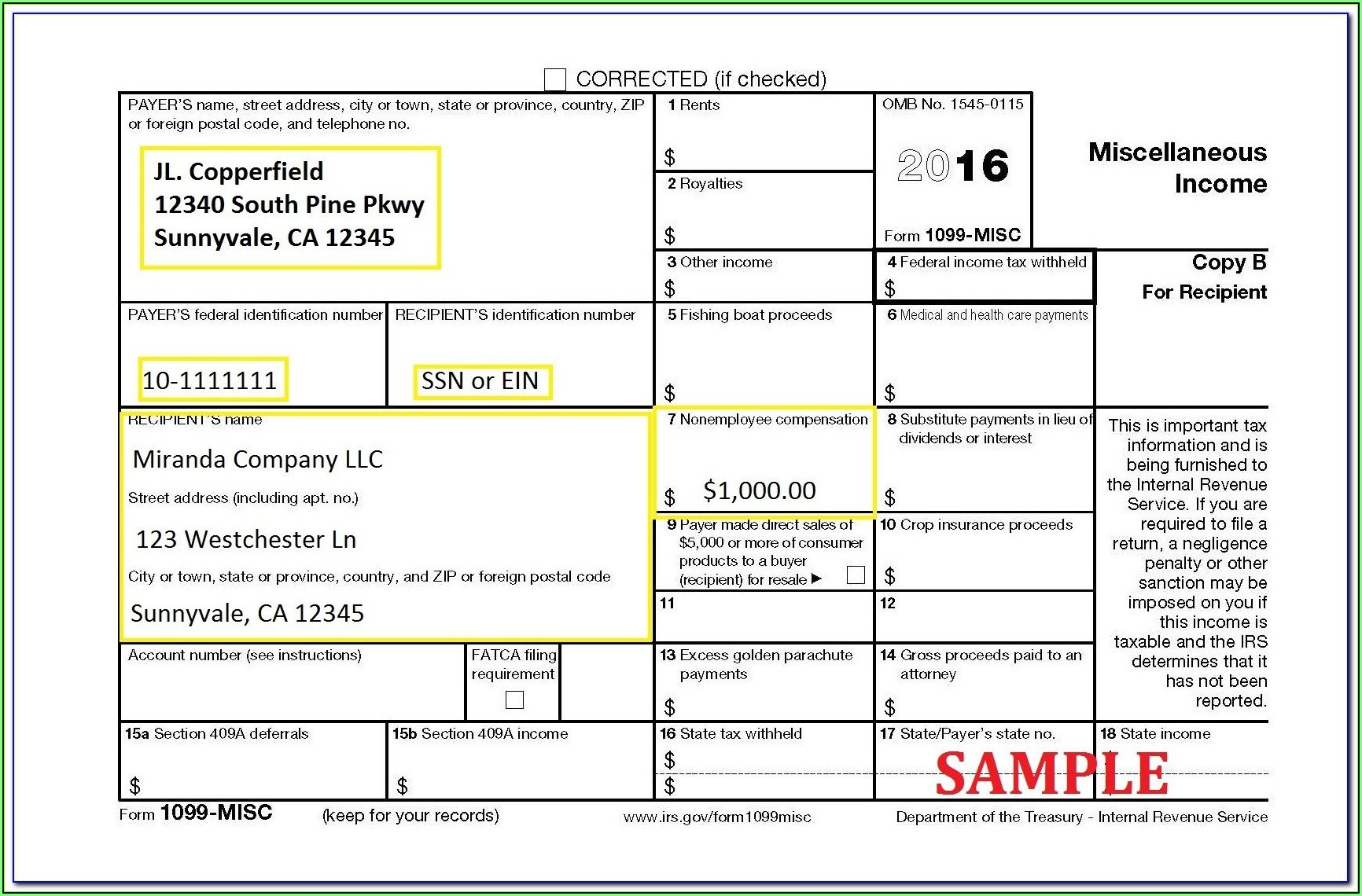 1099 Int Fillable Form 2017