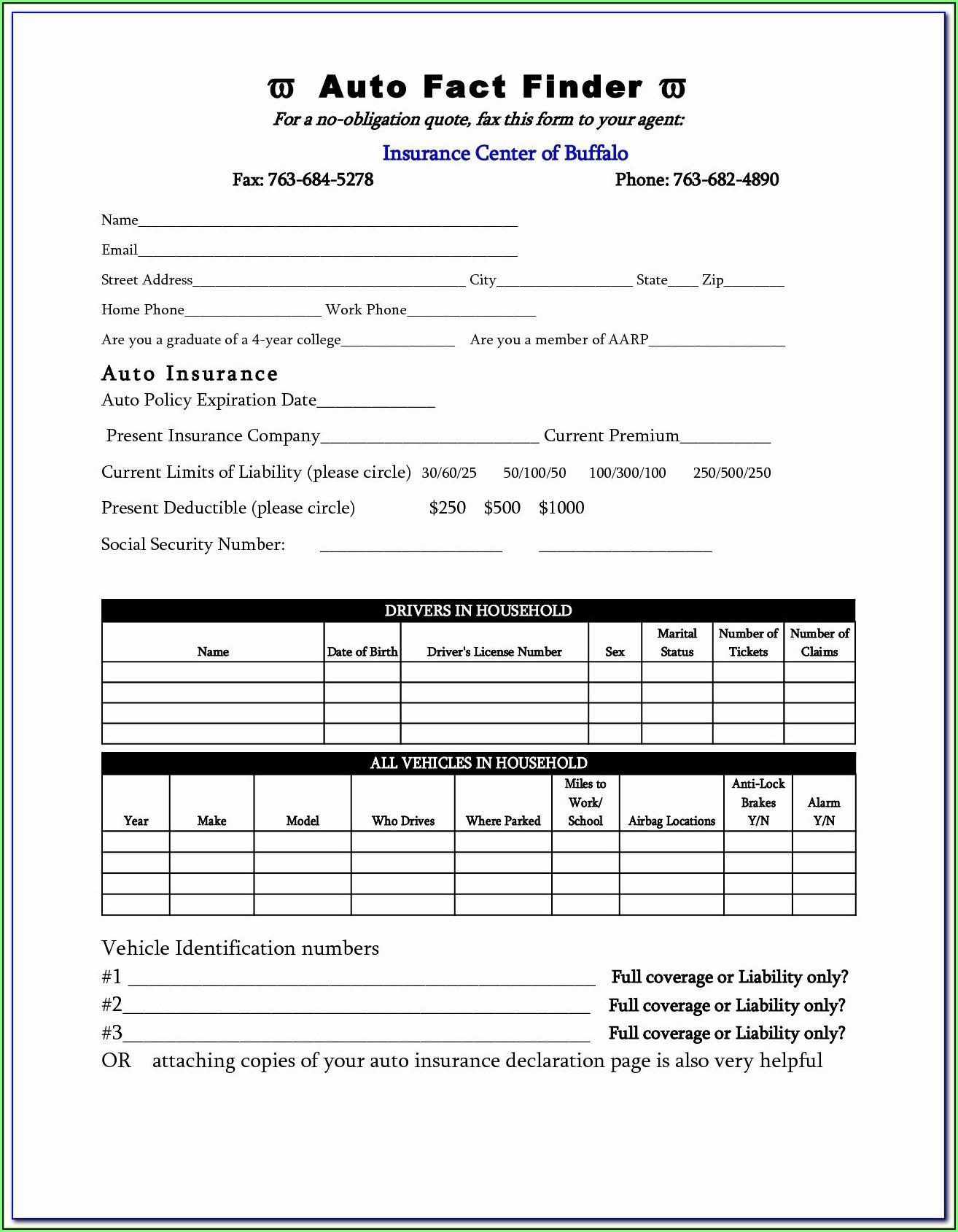 Aarp Supplemental Insurance Application Form