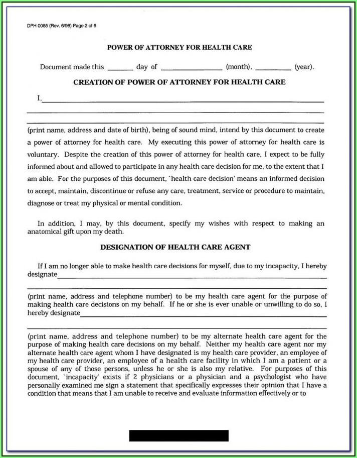 Advance Healthcare Directive Form California Kaiser