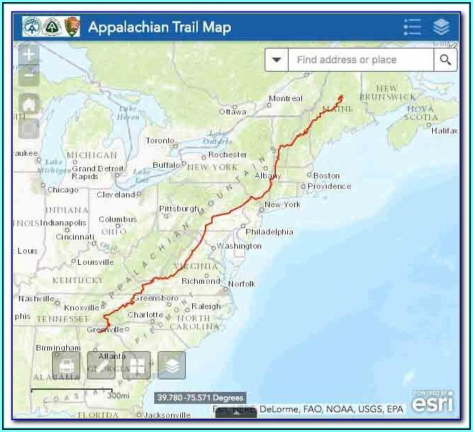 Appalachian Trail Guide Online
