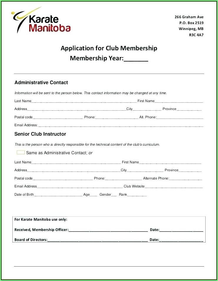 Basketball Camp Registration Form Template