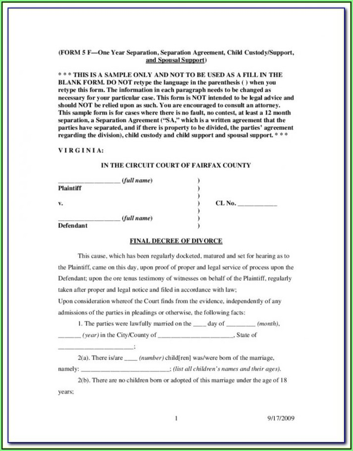 Bexar County Courthouse Divorce Papers