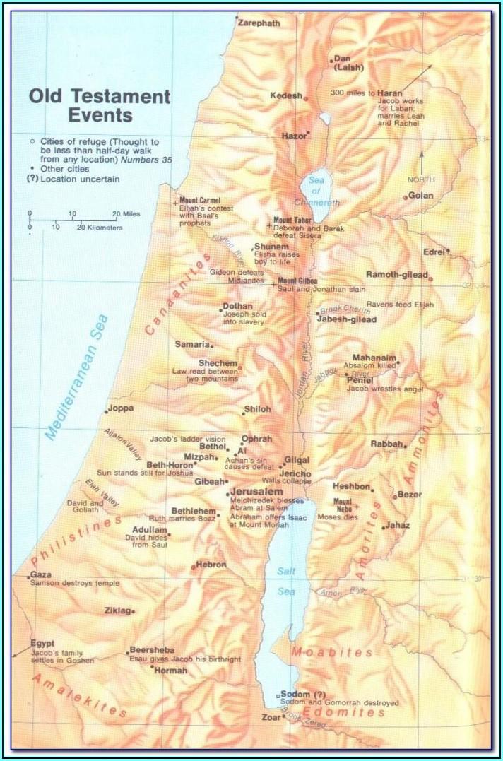 Bible Maps Flip Charts
