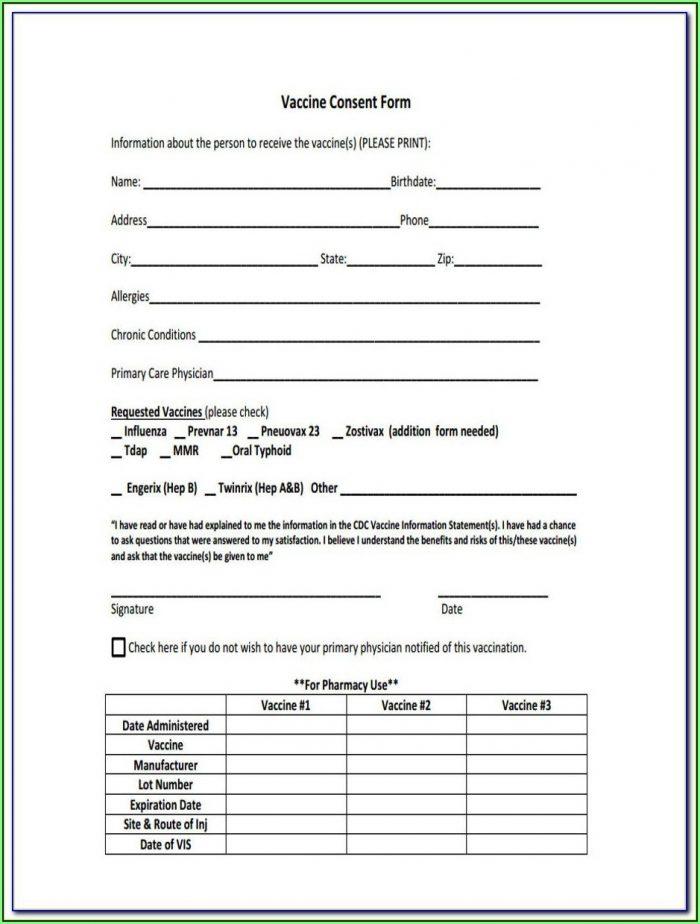 Cdc Prevnar Consent Form