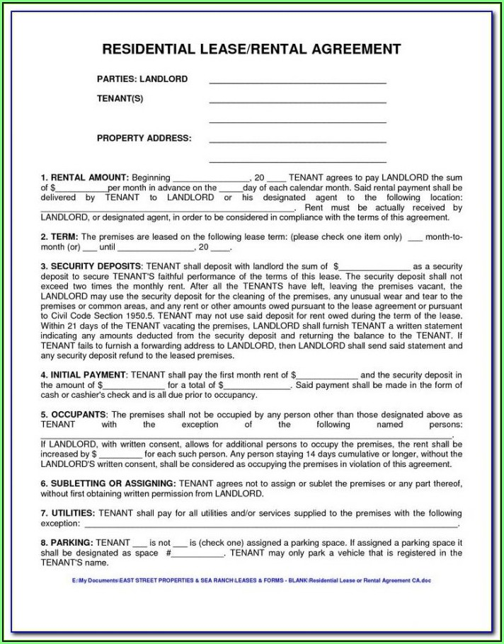 Chicago Apartment Lease Form 2018