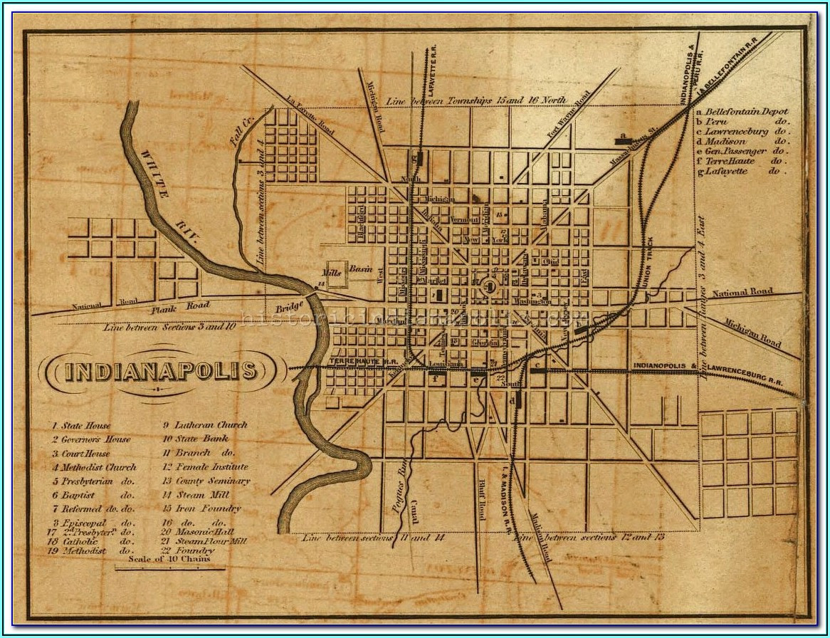 Clark County Indiana Historical Maps