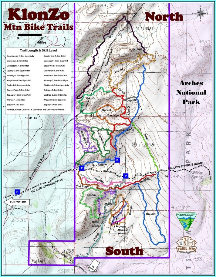 Colorado Trail Maps Off Road