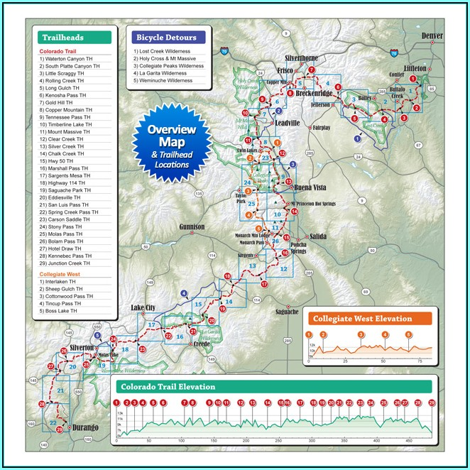 Colorado Trail Maps